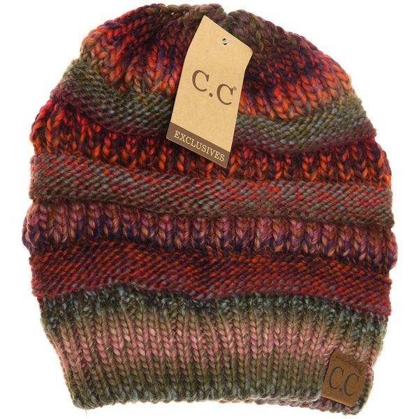 CC Cable Knit Beanie