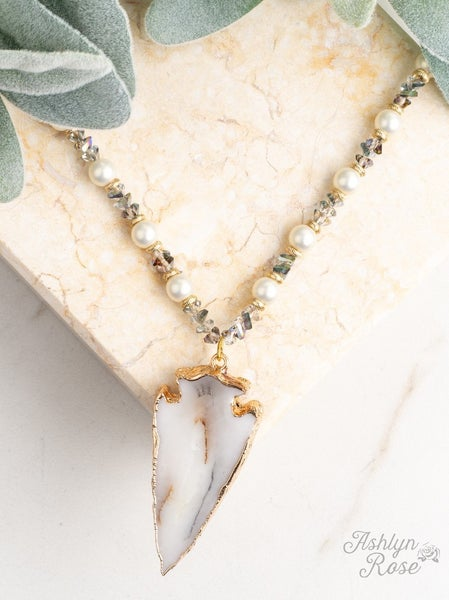 To the Point Beaded Necklace