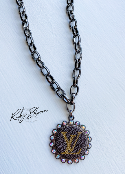 Upcycled Chain Necklace