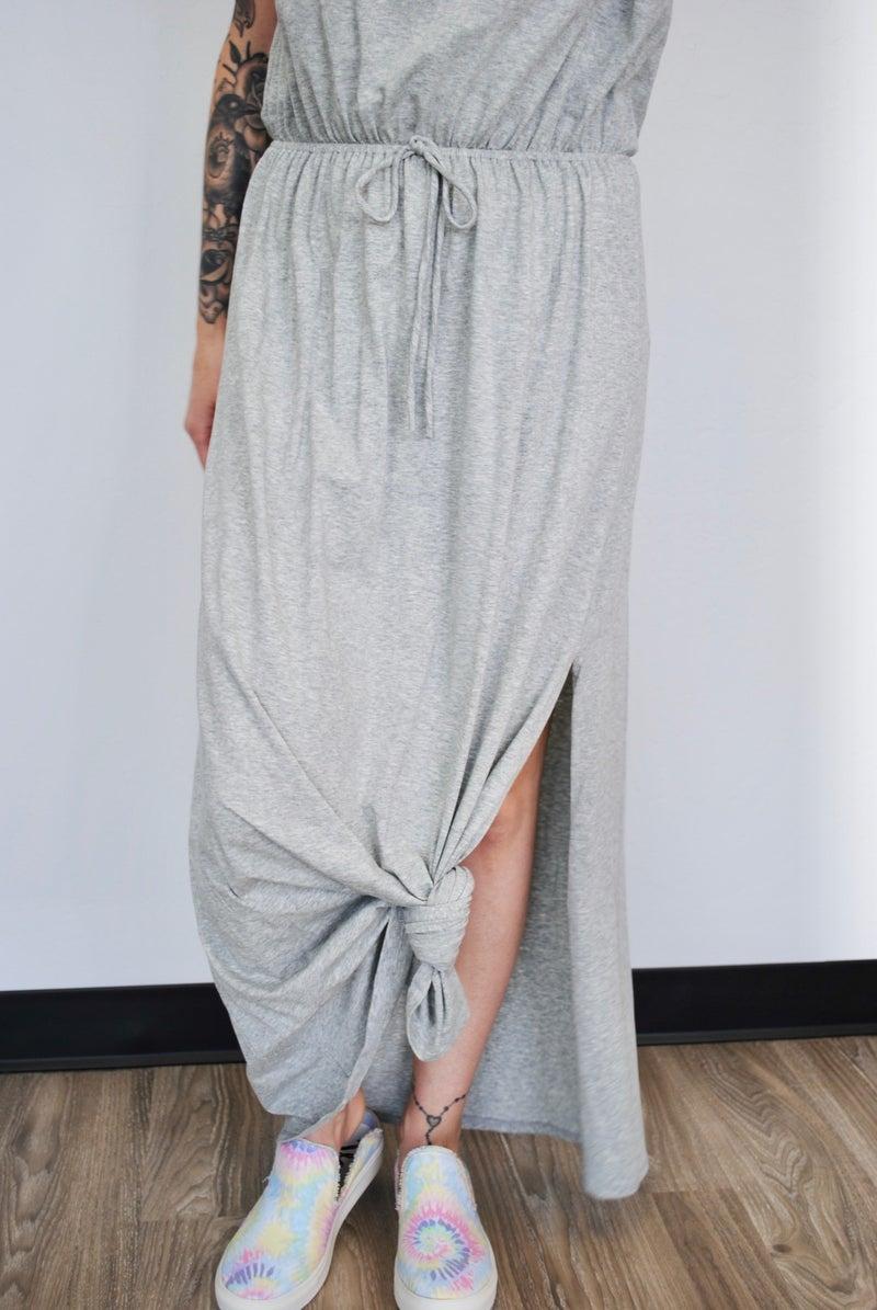 Grey Maxi Dress