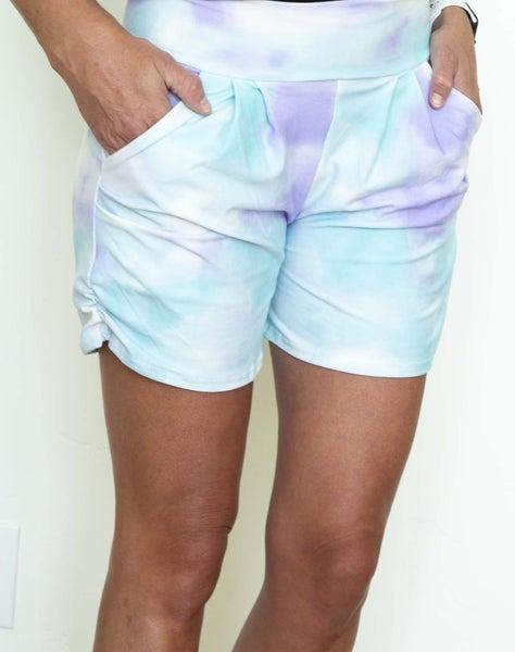Tie Dye Harem Shorts