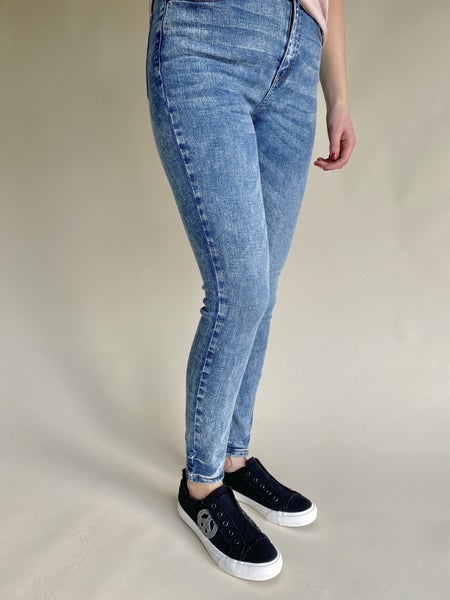 Judy Blue High Waist Acid Wash Skinny