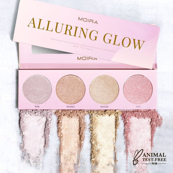 Alluring Glow Palette Highlighting Palette