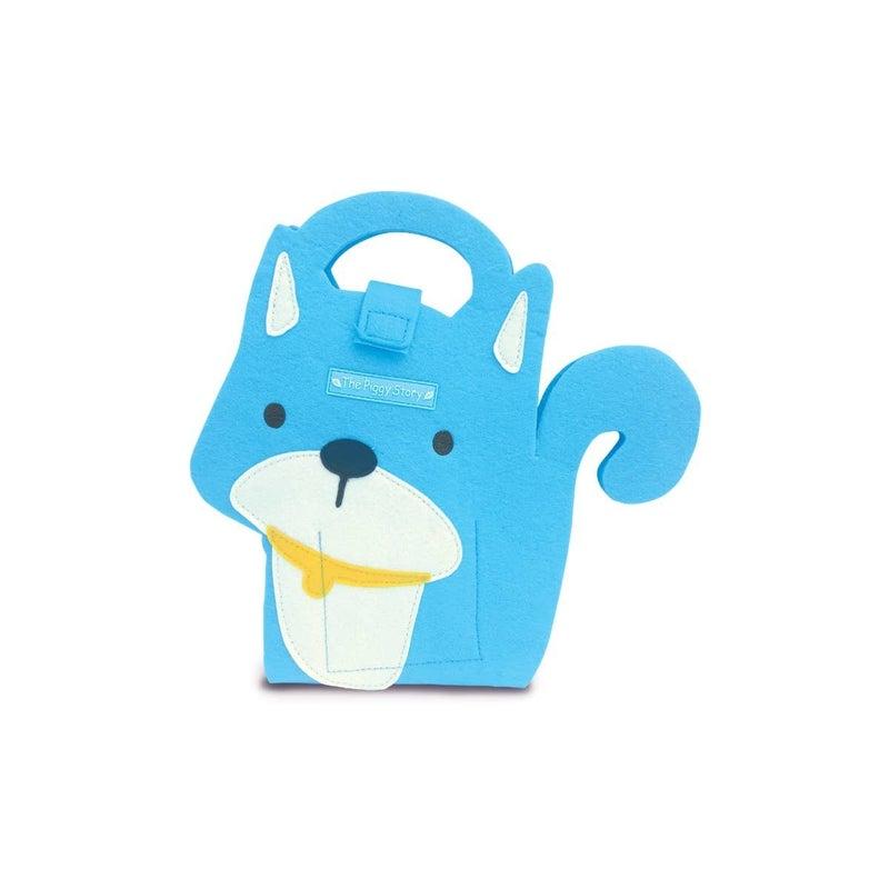 Blue Dog Mini Fuzzytown Die Cut Artfolio