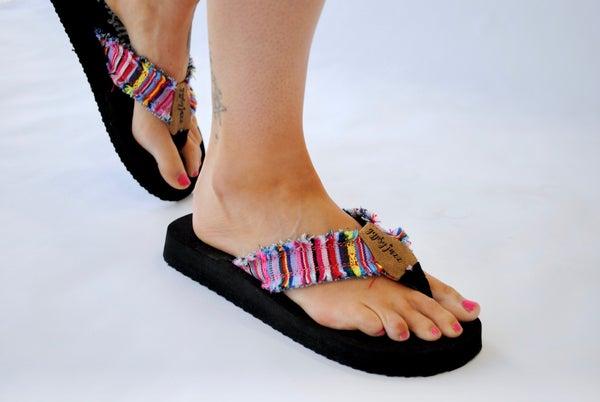 Sandal: Pink Multi