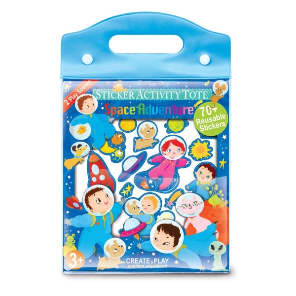Space Adventure Sticker Activity Tote