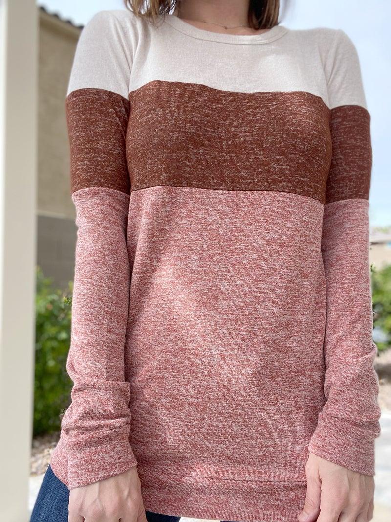 Color Block Long Sleeve