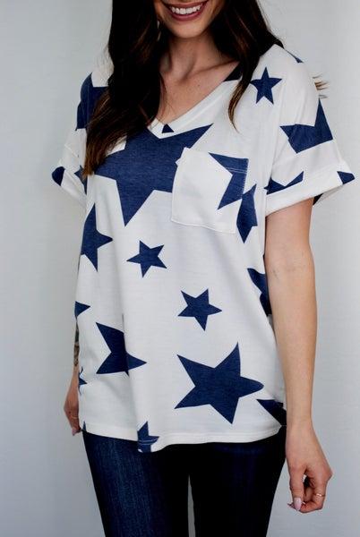 Blue Star Tee