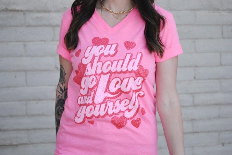 Go Love Yourself Graphic Tee