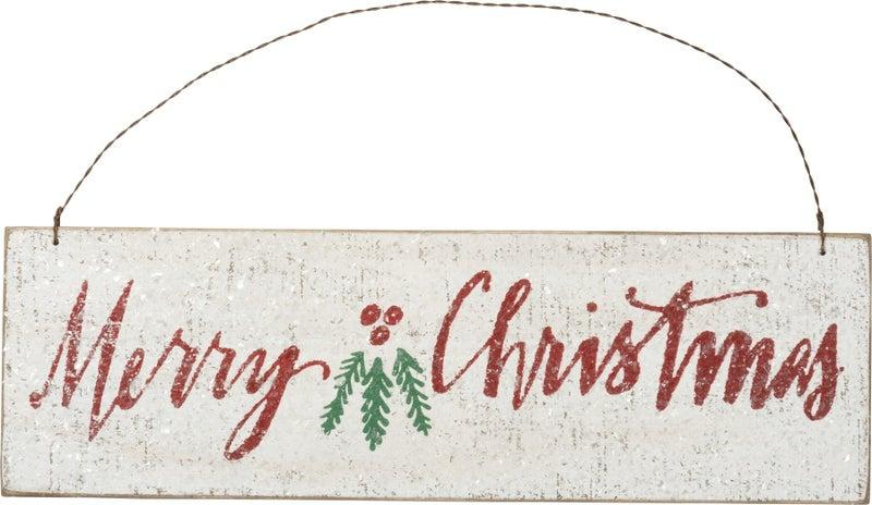 Merry Christmas Hanging Decor