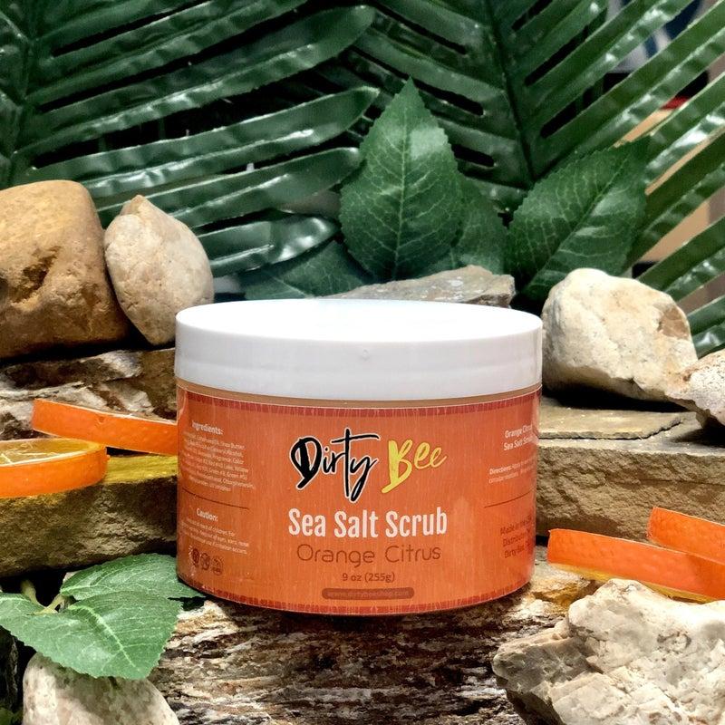 Sea Salt Scrub