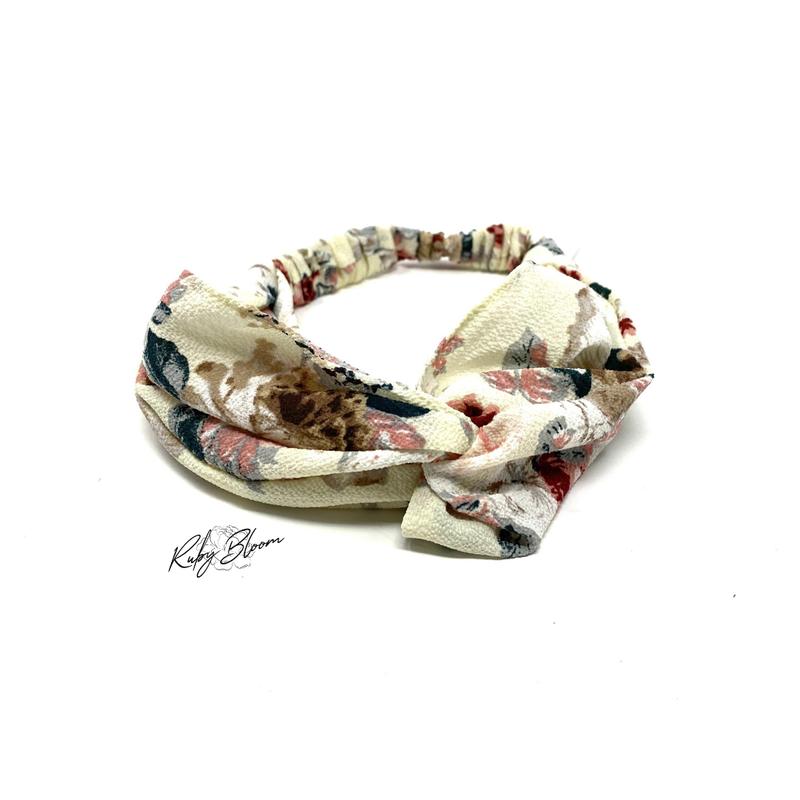 Watercolor Floral Headband