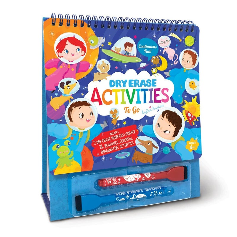 Dry Erase Activities To Go- Space Adventure