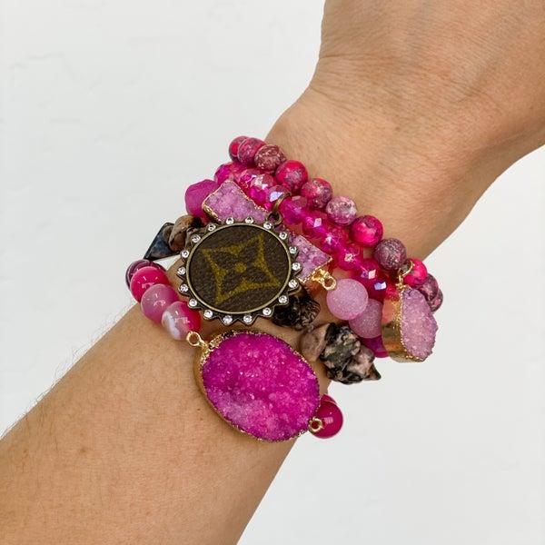 Upcycled Bracelet Stack #13