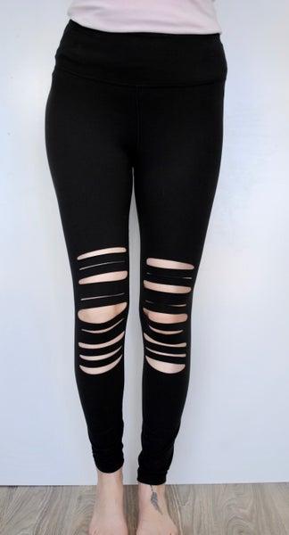 Laser Cut Leggings