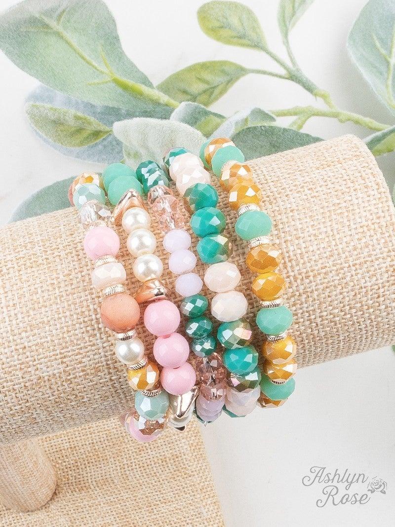 So Put Together Bracelet Set: Pastel Charm