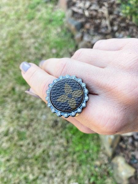 Upcycled Circle Ring: Small