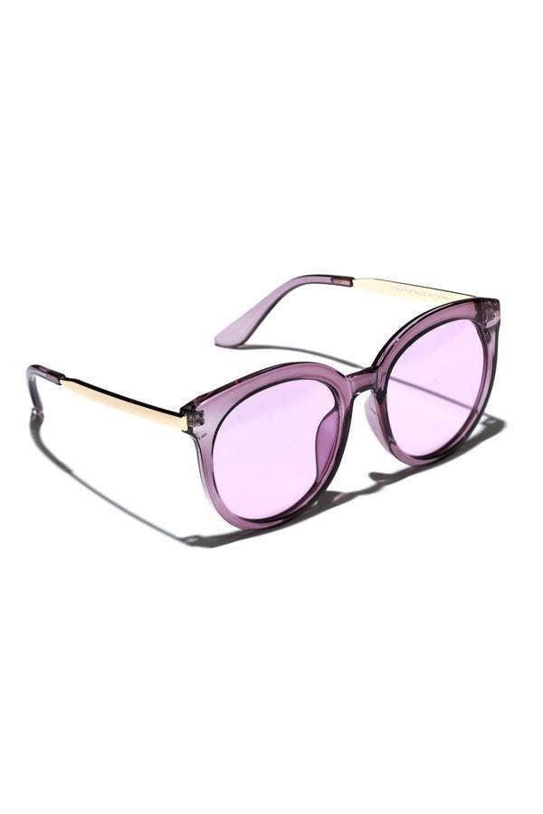 Oversize Rounded Gabi Sunglasses