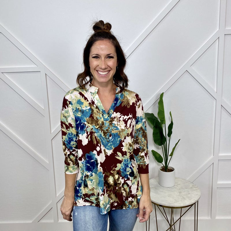 Gabby Floral Top
