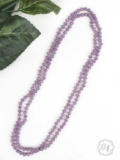 The Essential Double Wrap Beaded Necklace