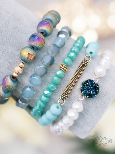 So Put Together Bracelet Set, Moody Blues
