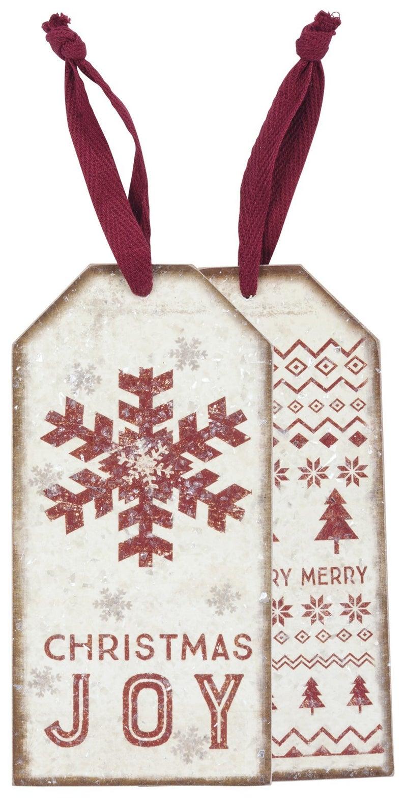 Christmas Joy Bottle Tag