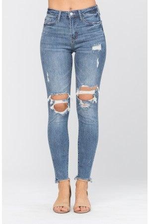 Judy Blue Knee Destroy Skinny