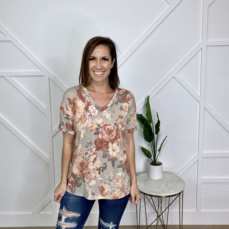 Fall Blooms Top