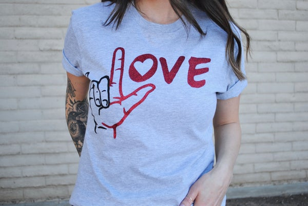 Love Hand Graphic Tee