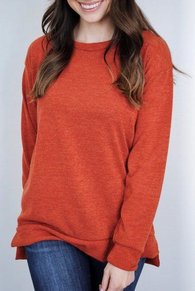 Rust Sweater