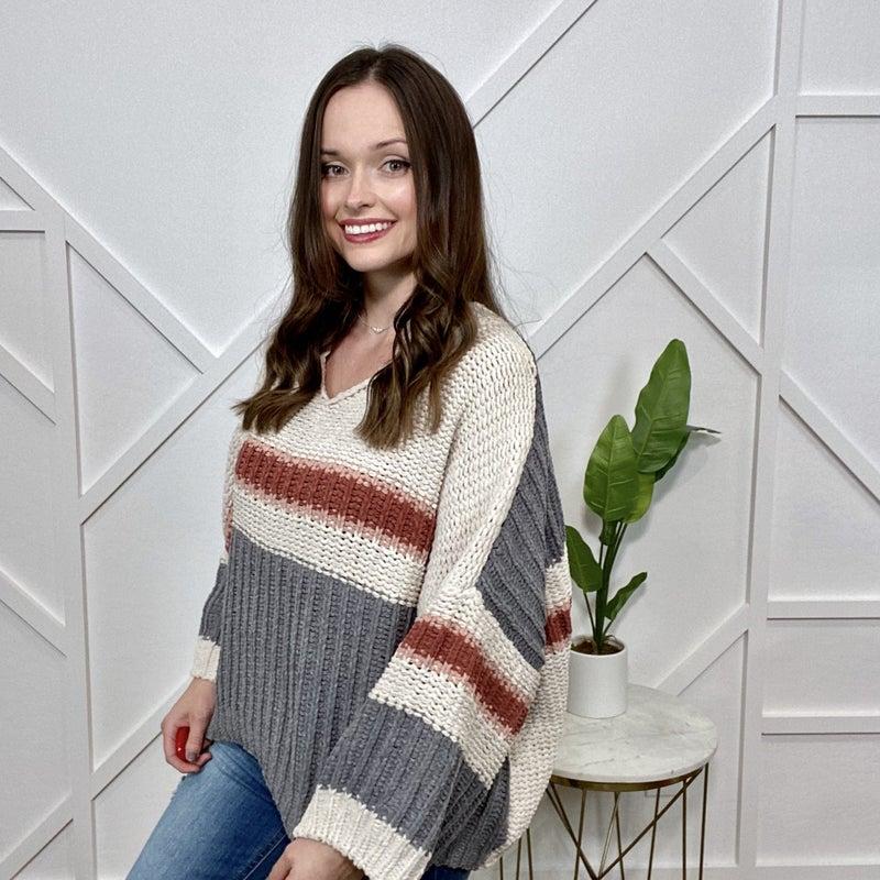 RWB Boxy Chenille Sweater