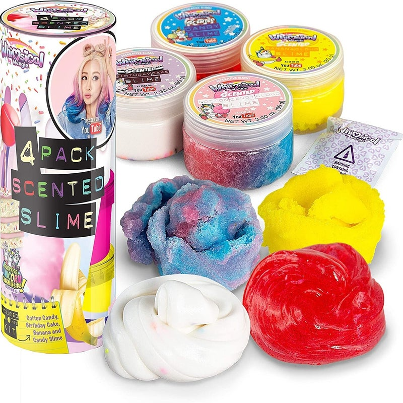 Whimsical Scented Slime Kit w/ Mystery Unicorn Charm
