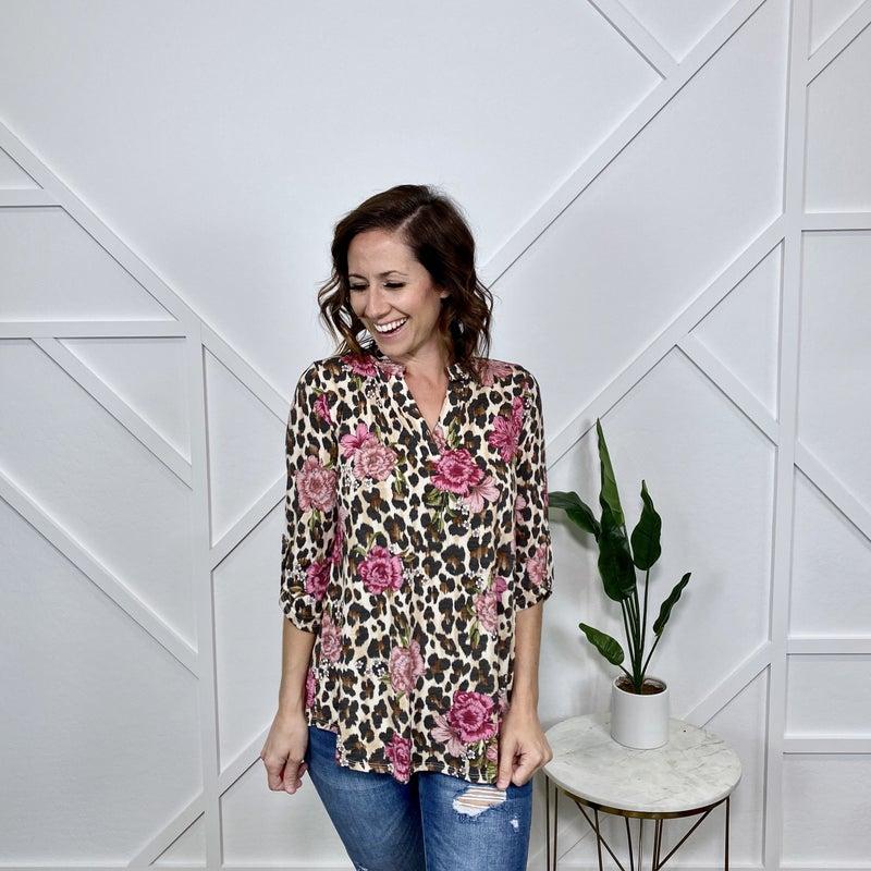Leopard Floral Gabby