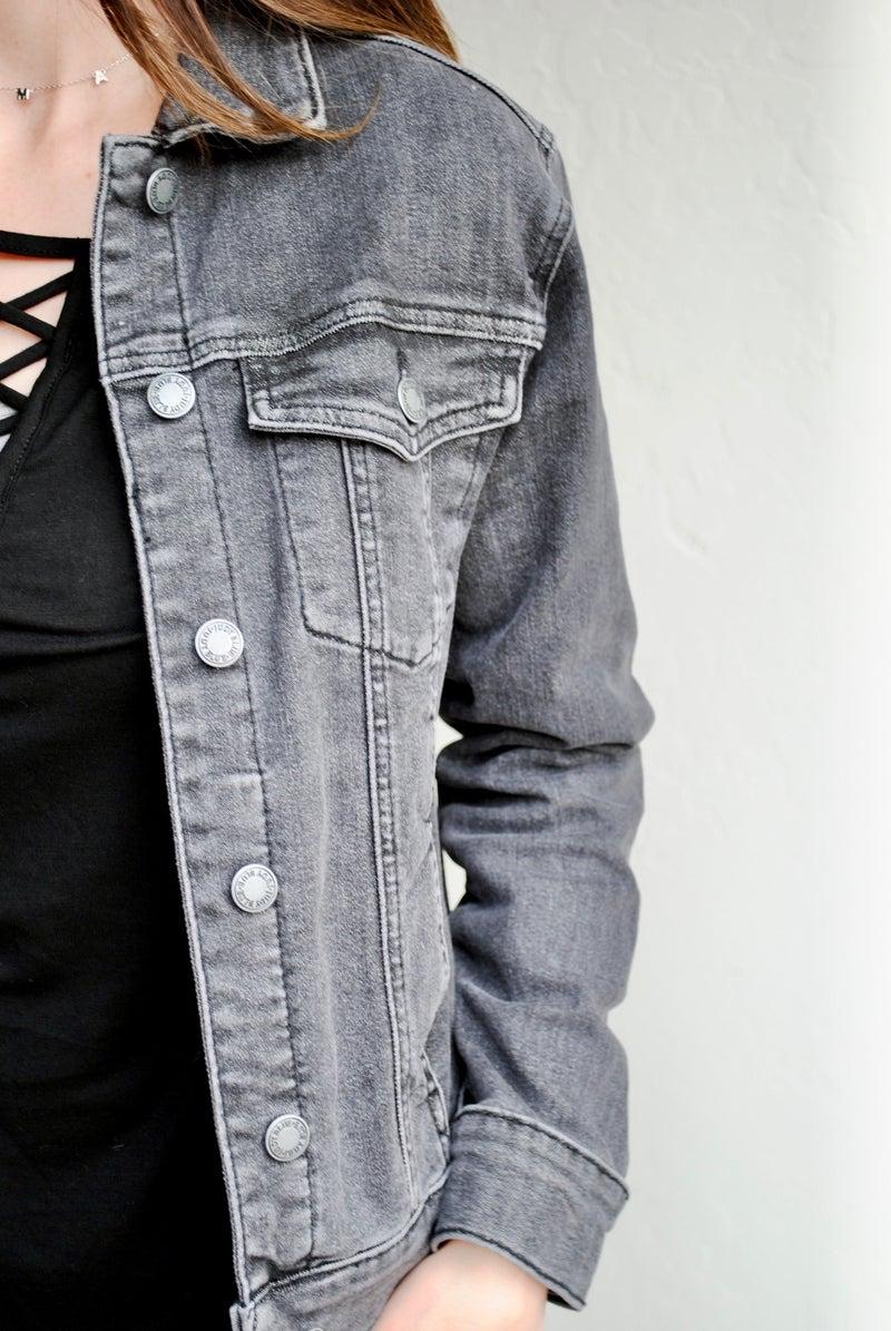 Judy Blue Black Washout Jacket