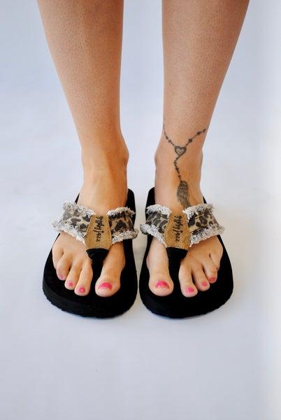Sandal: Leopard
