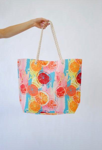 Summer Fruit Beach Bag