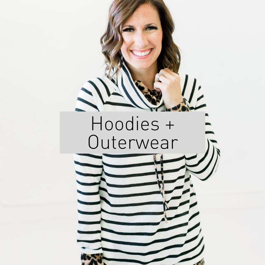 Hoodies + Outerwear
