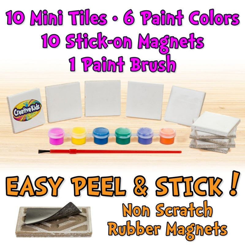 Magnetic Mini Tile Art Kit