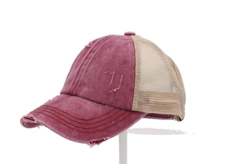 CC Crisscross High Ponytail Hat