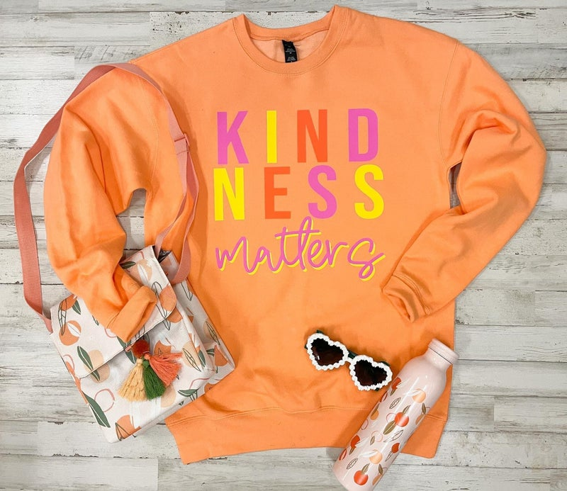 Kindness Matters Graphic Sweatshirt