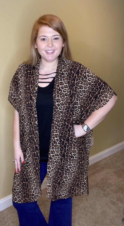 Wild One Kimono, Cheetah
