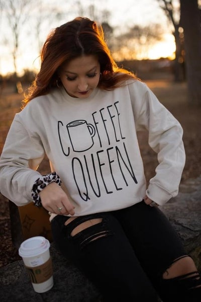 Coffee Queen Sweatshirt