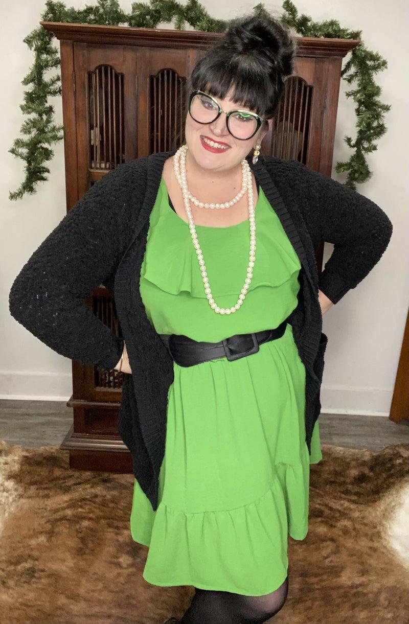 SHADES OF IRELAND DRESS, GREEN