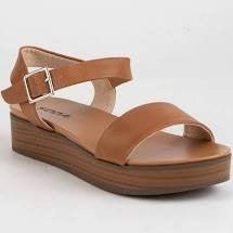 Footloose Sandals, Tan