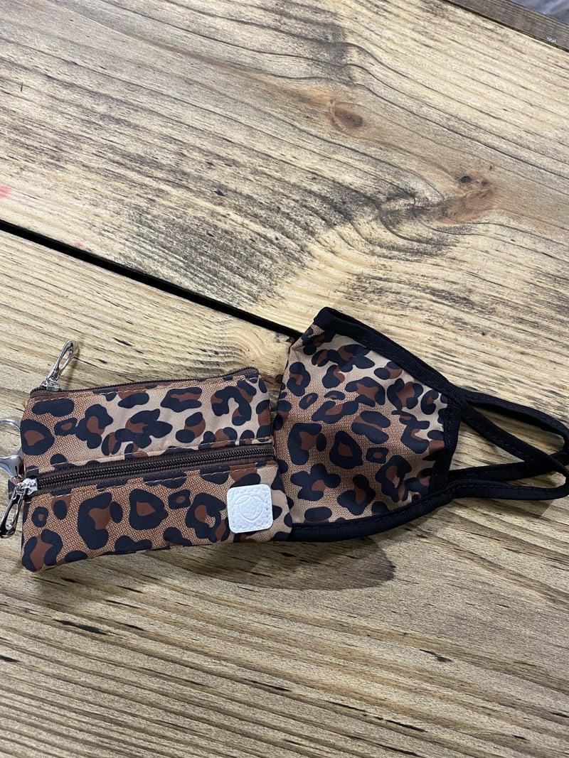 Wild Adventure Leopard Mini Versa Bag