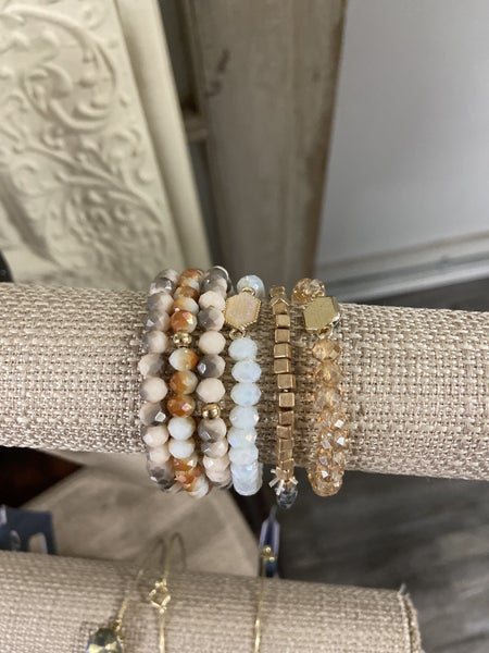 Assorted Beaded Bracelets