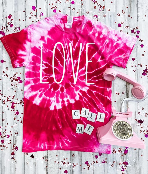 Red Love Graphic Tee