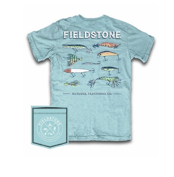 Fieldstone Fishing Lures Graphic Tee