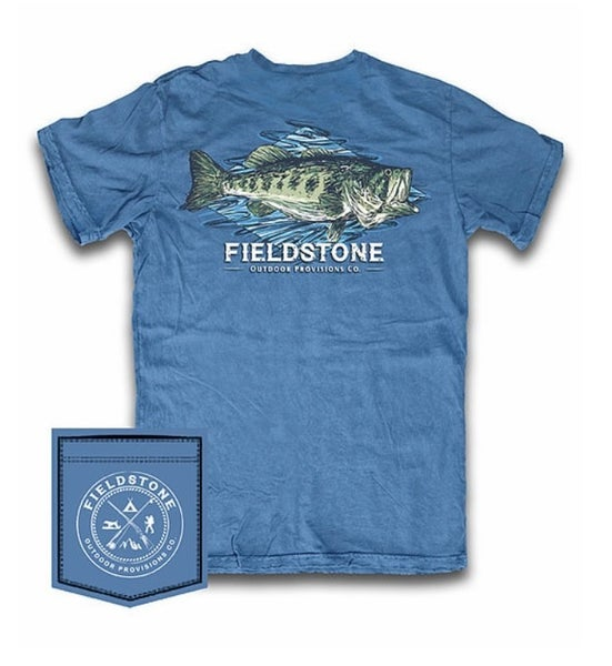 Fieldstone Largemouth Graphic Tee