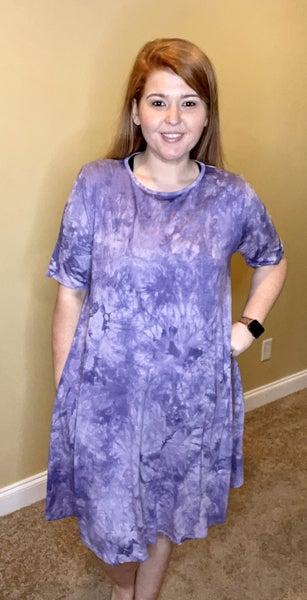 Contagious  Love For You Tie Dye Dress